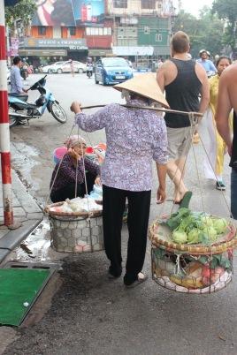 Hardworking Vietnamese lady