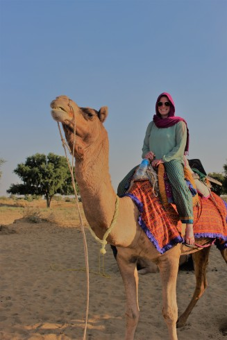 Camel Safari Jaisalmer, India